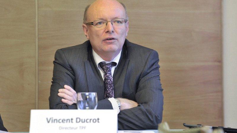 Le Fribourgeois Vincent Ducrot sera le prochain directeur général des CFF. (archives)