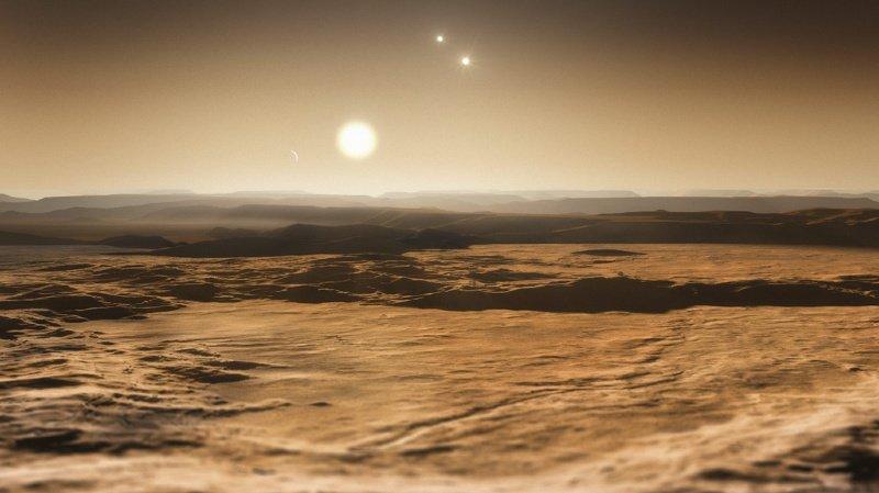 Astronomie – Les Suisses ont choisi: l'exoplanète et son étoile s'appelleront «Eiger» et «Mönch»