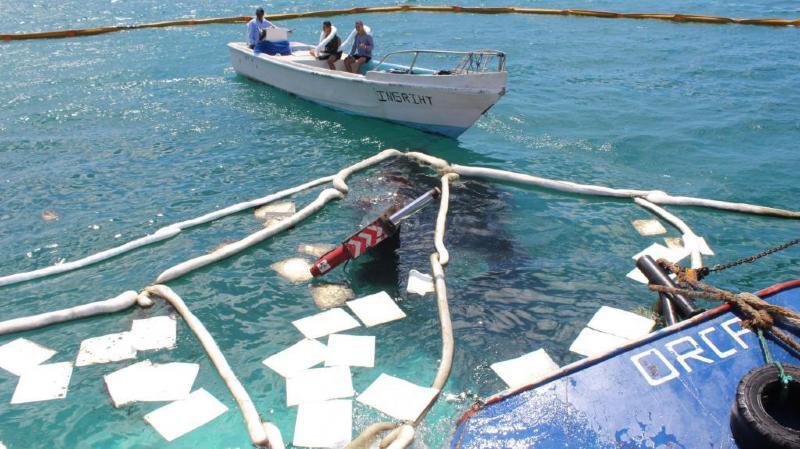 Le luxuriant écosystème des Galapagos aurait pu être mis à mal par cet épanchement de diesel. Les autorités ont réussi à circonscrire ce début de marée noire et préserver ainsi la faune.