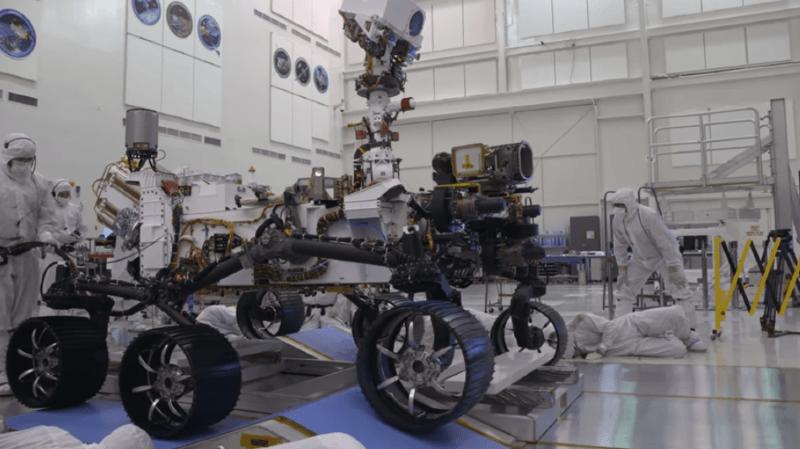Espace: le rover Mars 2020 servira aussi de «précurseur à une mission humaine» sur la planète rouge