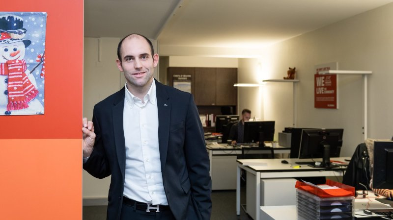 Alain Miéville et Arnaud Jaquet, les assureurs du HCC