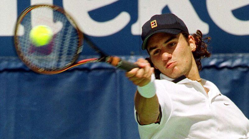 En 2000, Federer devient numéro1 du tennis suisse
