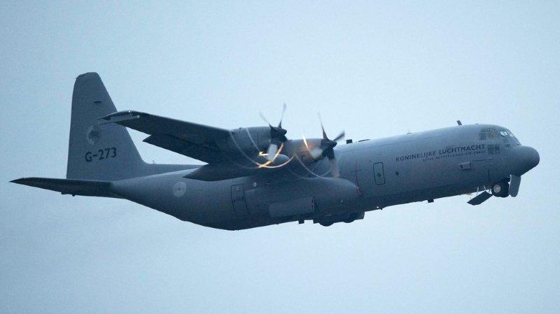 L'avion militaire disparu est un C130 (illustration).