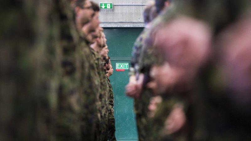 Armée: près de 12 000 soldats font leur entrée à l'école de recrue