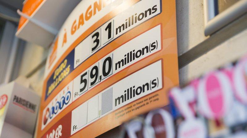 Loteries: le Swiss Loto et l'Euro Millions ont fait 27 millionnaires en Suisse en 2019
