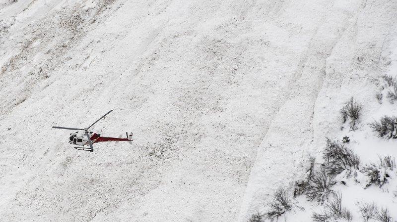 Vaud: avalanche dans la région de Leysin, pas de victime
