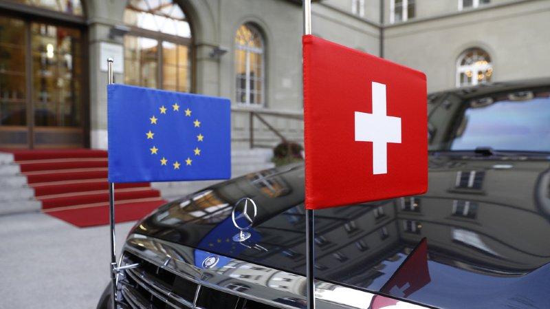 Si la Suisse est d'accord de payer, elle veut d'abord que l'UE mette un terme aux mesures de rétorsion qu'elle lui a imposées (illustration).