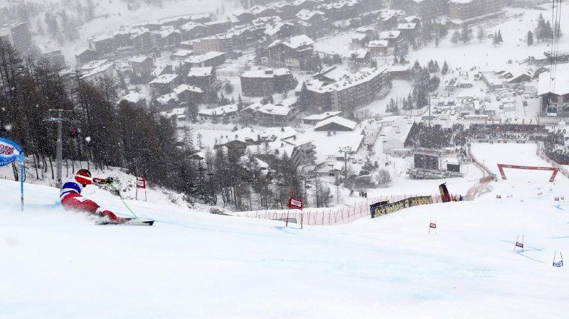 Comme la saison dernière, les courses de Coupe du monde sont perturbées par la météo à Val d'Isère (archives).
