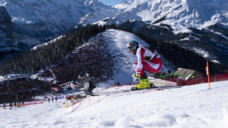 Ski alpin: Wengen touche 2 millions de Swiss-Ski, les organisateurs en voudraient plus