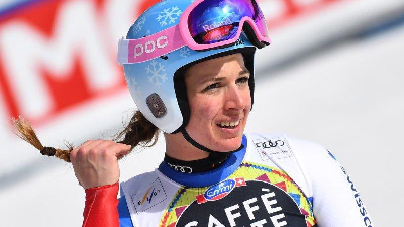 Ski alpin: longue pause forcée pour la Grisonne Jasmine Flury