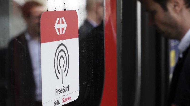 CFF: du wifi gratuit dans 2500 trains grandes lignes