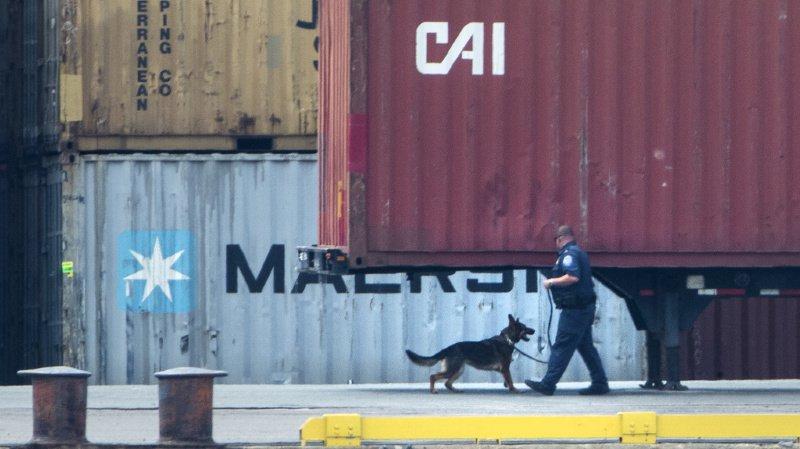 """La marine estime d'ores et déjà que la saisie """"sera le coup le plus important porté au narcotrafic dans l'histoire du pays""""."""