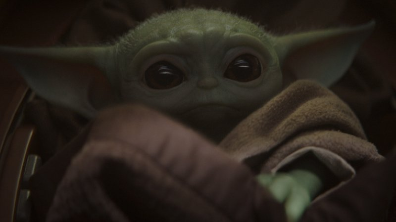 """Les fans savent désormais qu'ils n'auront que quelques mois à attendre avant de retrouver l'un des personnages vedettes de la série, """"Baby Yoda"""", devenu une sensation sur internet."""