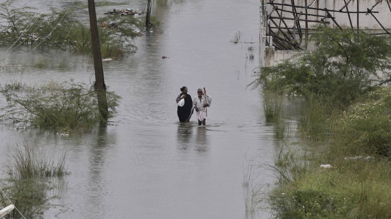 Climat: les inondations pourraient faire jusqu'à 50 millions de déplacés par an d'ici 2100