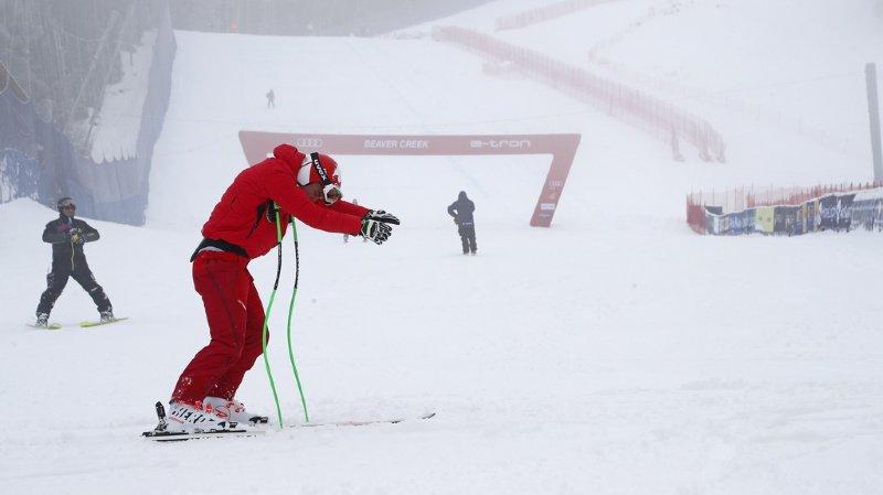 Les skieurs n'auront donc eu droit qu'à un seul entraînement avant de disputer la descente.