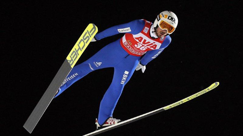 Saut à ski: premier podium en Coupe du monde pour le Vaudois Killian Peier