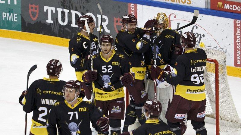 Hockey: Genève-Servette gagne la bataille des dauphins face Bienne, Lausanne s'incline à Berne, Fribourg bat Davos