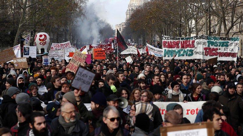 France: grande réunion au 15e jour de grève au sujet des retraites