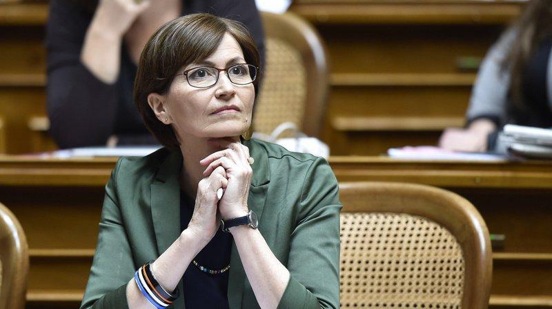 La candidate des Verts Regula Rytz n'a pas été élue au Conseil fédéral.
