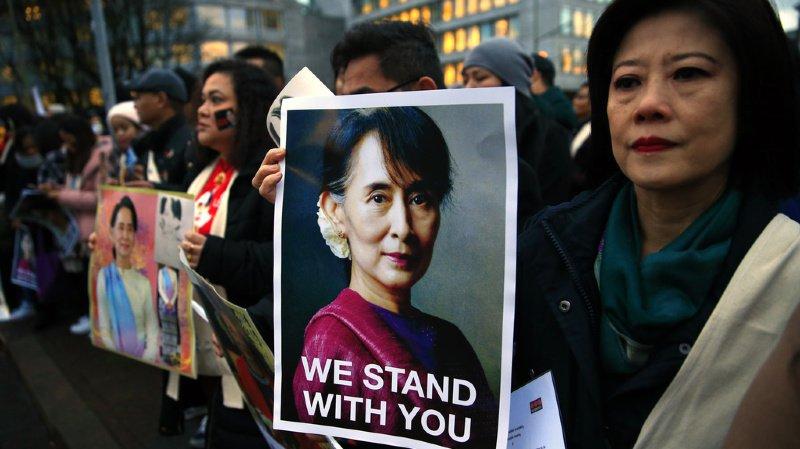 Devant la Cour internationale, l'icône birmane Aung San Suu Kyi dénonce un tableau incomplet du génocide des Rohingyas