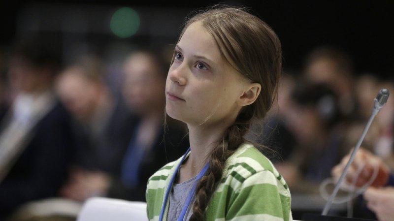 Climat: Greta Thunberg personnalité de l'année du magazine Time