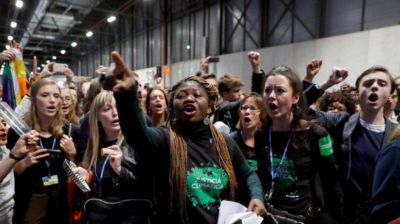 Climat – COP25: 200 militants expulsés après une manifestation à Madrid