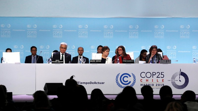 Les négociateurs de la COP25 sur le climat à Madrid sont parvenus à un accord minimal dimanche.