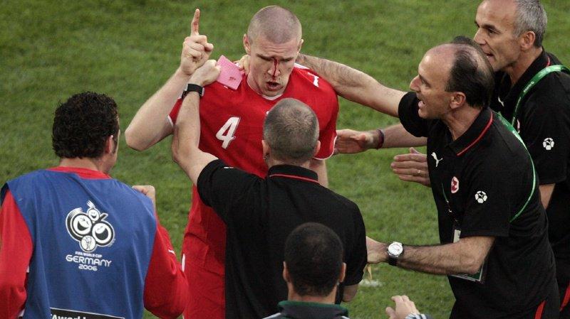 Son visage en sang, après son but face à la Corée du Sud lors du Mondial 2006, restera longtemps encore dans les mémoires.