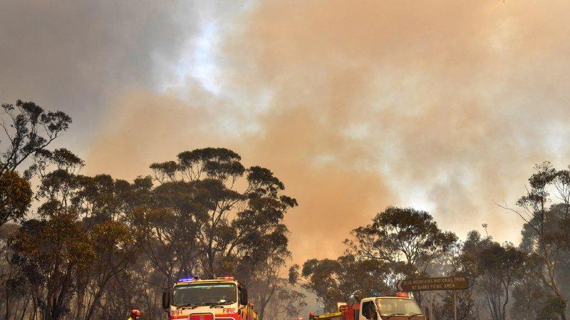 Australie: état d'urgence décrété dans le sud-ouest suite aux feux de forêt