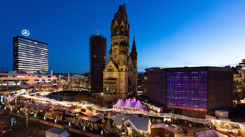 Fausse alerte à Berlin après l'évacuation d'un marché de Noël — Allemage