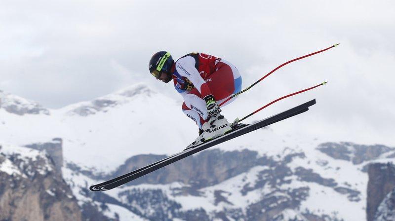 Ski alpin: malgré une main cassée, Beat Feuz 7e à l'entraînement des descentes de Bormio