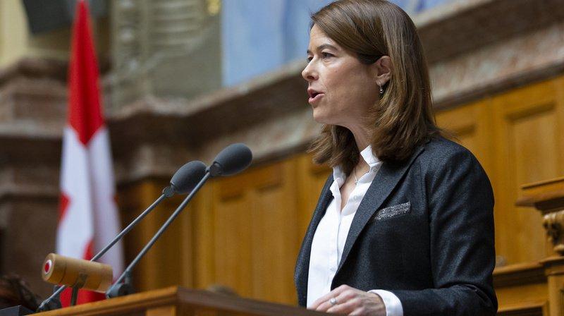 """""""J'aime cette fonction et je peux m'imaginer rester encore plus longtemps"""", a déclaré Petra Gössi qui n'exclut pas de demeurer à ce poste jusqu'aux élections de 2023."""