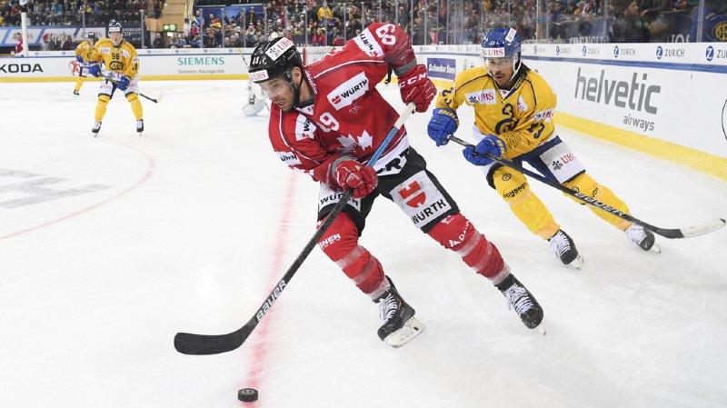 Hockey - Coupe Spengler: Davos corrigé par le Team Canada