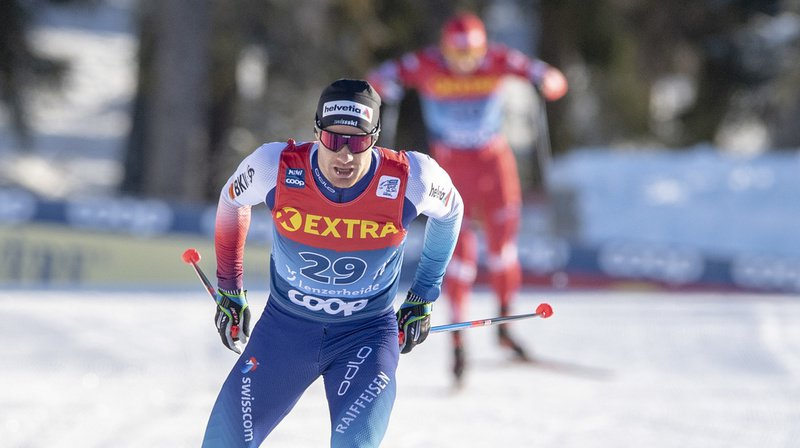 Ski nordique: Dario Cologna termine au 7e rang du Tour de Ski, remporté par le Russe Bolshunov