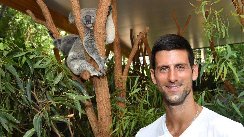 Tennis: pour Djokovic, un report de l'Open d'Australie est envisageable