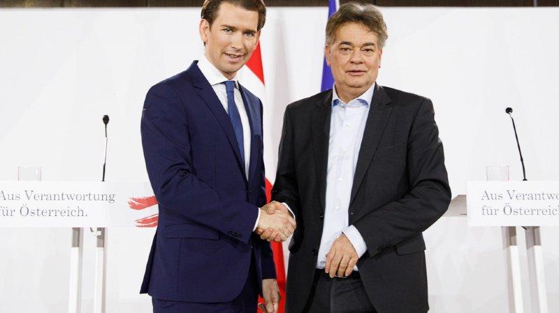 Autriche: les Verts d'accord de gouverner avec Sebastian Kurz