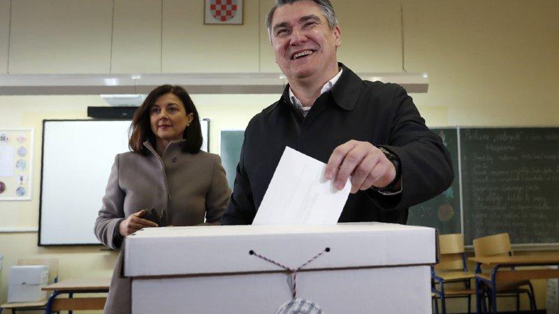 Croatie: le social-démocrate Zoran Milanovic élu président