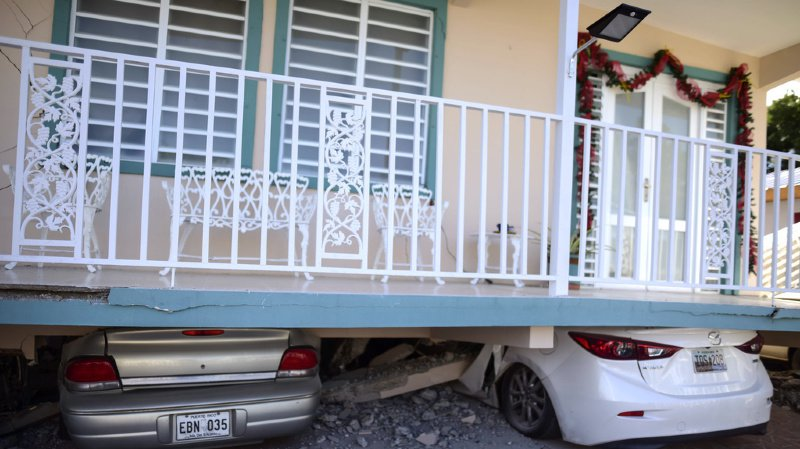 Un séisme de magnitude 5,8 a secoué l'île américaine de Porto Rico
