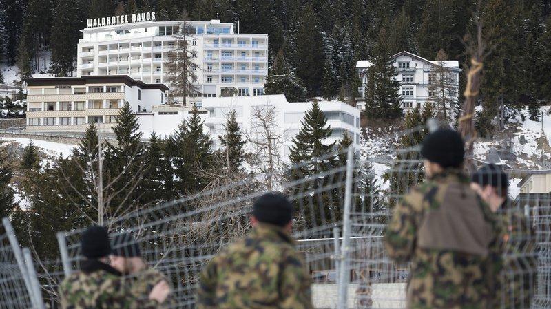 WEF 2020: l'armée suisse commence à installer le dispositif de sécurité à Davos