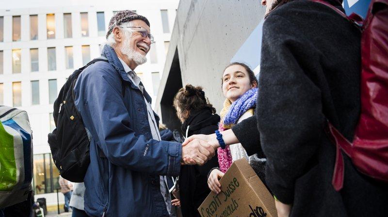 Procès grévistes du climat: Jacques Dubochet soutient les prévenus