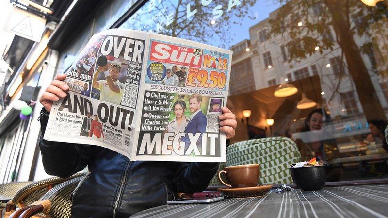 Retrait de Harry et Meghan: le Royaume-Uni accuse le coup