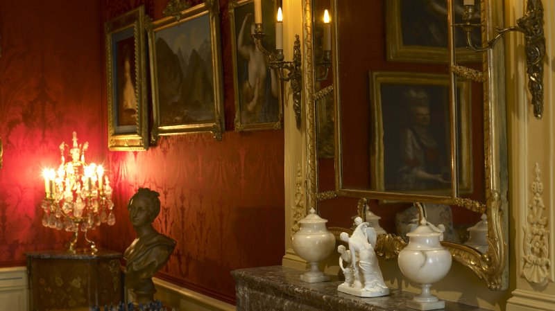 Guided tour of Noblesse oblige! Life at a château in the 18th century