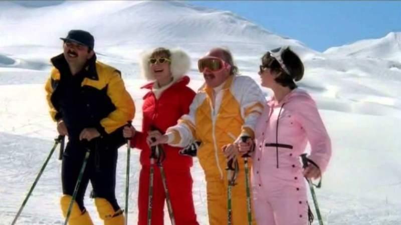 """Cinéma: Jugnot, Lhermitte, Chazel... les """"Bronzés font du ski"""" à Val d'Isère pour les 40 ans du film"""