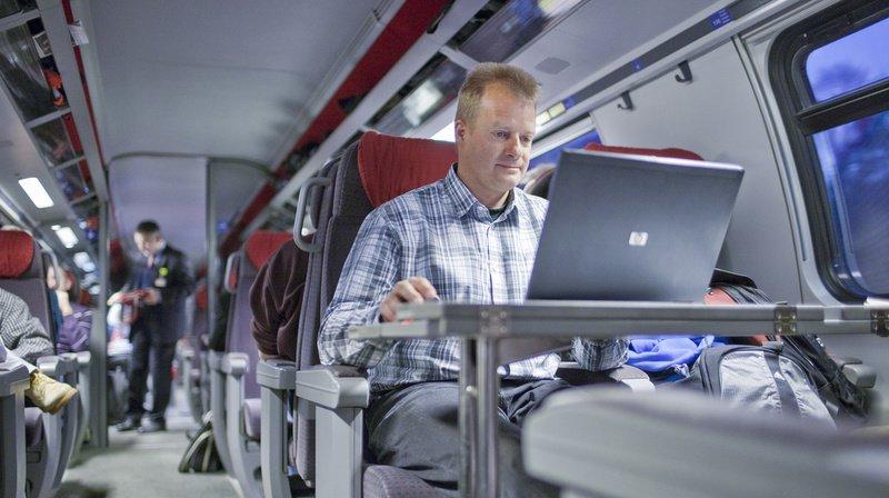 Les heures de travail effectuées dans le train seront comptabilisées. (Illustration)