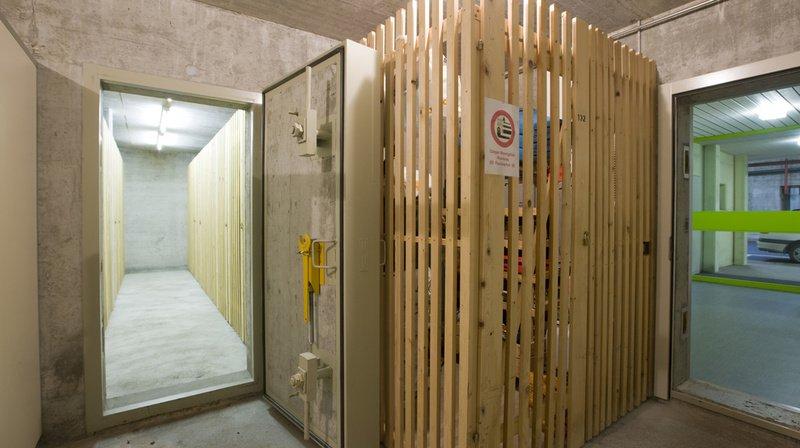 Le Conseil des Etats souhaitait que les financements couvrent l'ensemble des coûts occasionnés après la construction d'abris privés. (Illustration)