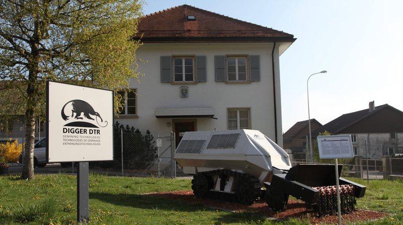 Les visites se déroulent dans l'ancien arsenal de Tavannes.