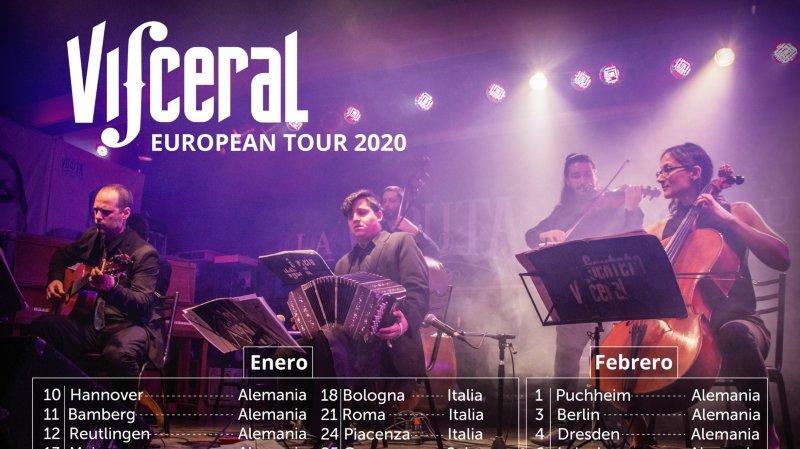 Sexteto Visceral - European Tour 2020
