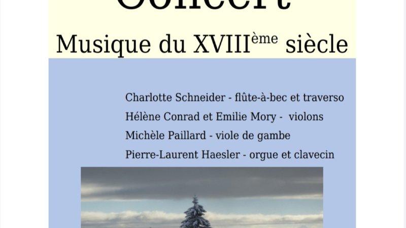 Concert - Musique du XVIIIème siècle
