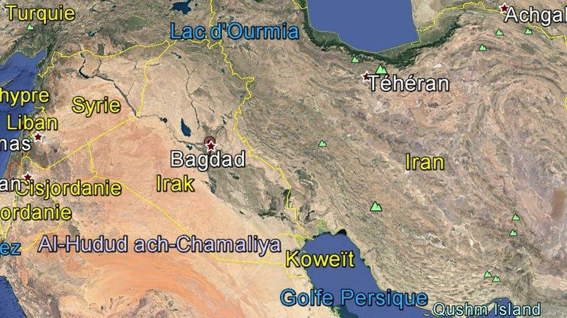 Irak: deux roquettes s'abattent sur la Zone verte de Bagdad