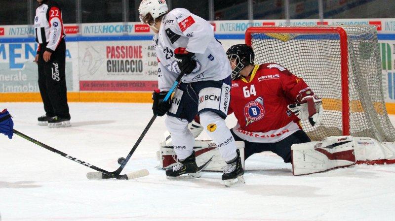 Le HCC réagit et corrige les Ticino Rockets